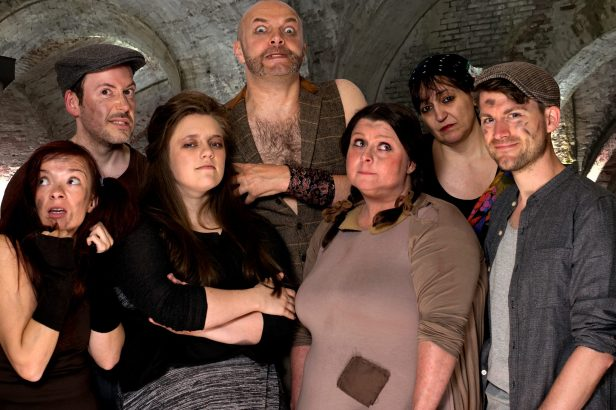 Urinetown The Musical - The Poor (Lucy Woods, Anthony Sales, Cassie Healey, Richard Ross, Gemma Sales, Julia Hart, Oliver Pirk)
