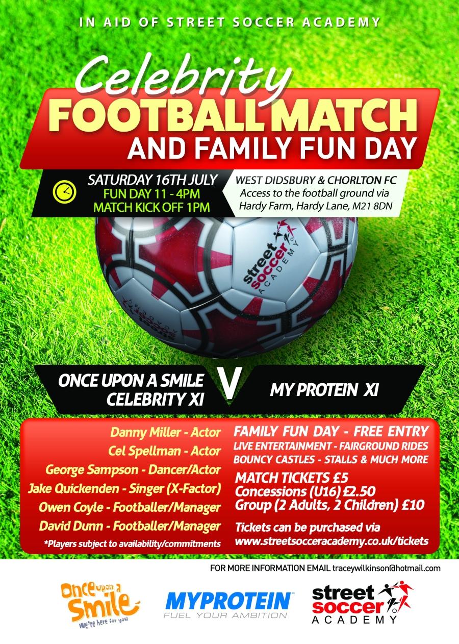 A4 Celebrity Football Match