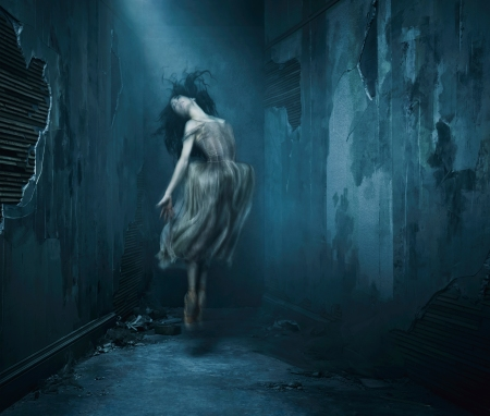 English National Ballet's Giselle by Akram Khan  Dancer_ Tamara Rojo Photographer_ Jason Bell