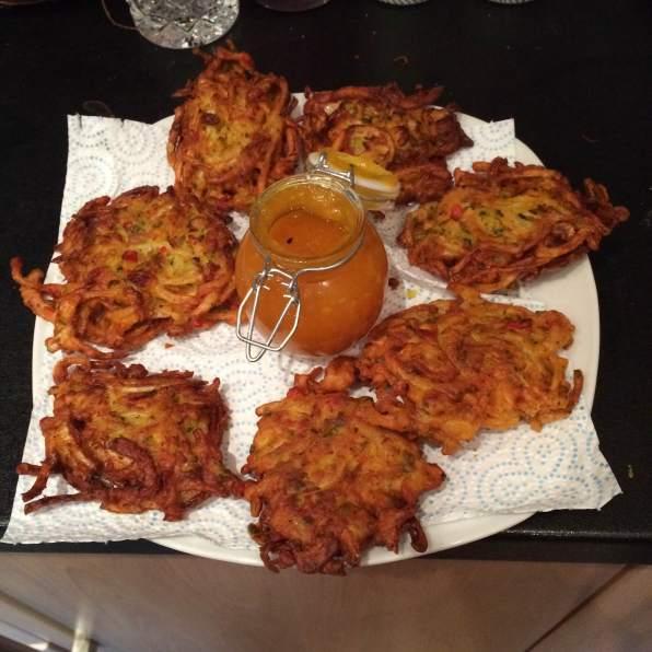 Onion Bhaji Finished