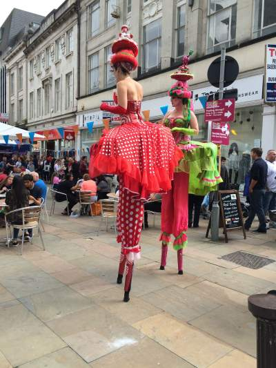 Street Performers 2016