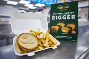 A Holland's BIG EATS pie - same taste now bigger (1)