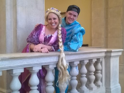 Rapunzel and Geroge