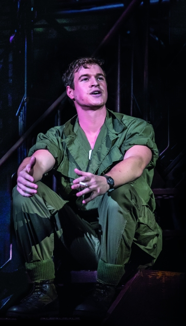 MISS SAIGON. Ashley Gilmour 'Chris'. Photo Johan Persson (2)