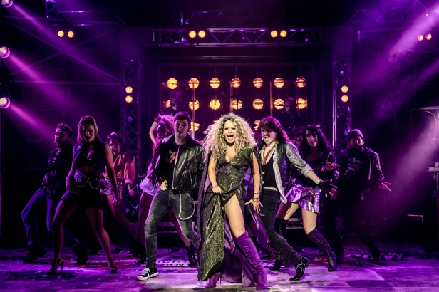 15. ROCK OF AGES. Zoe Birkett 'Justice' and The Company. Photo Richard Davenport